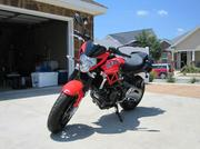 2012 APRILIA 750 SHIVER WITH 20 MILES BRAND NEW